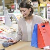 Happy Shopper Royalty Free Stock Photography