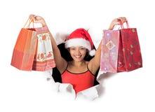 Happy shopper Stock Photos