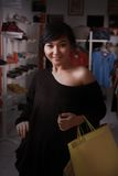 Happy shopping Royalty Free Stock Photos