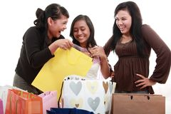 Happy shopping Royalty Free Stock Image
