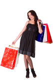 Happy shopping Stock Image