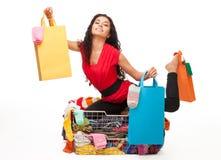 Happy shopping Stock Photography