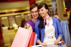 Happy shopping Royalty Free Stock Photo
