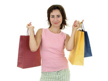 Happy shopping Royalty Free Stock Photos