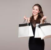 Happy shopping. Royalty Free Stock Image