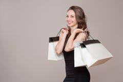 Happy shopping. stock photography