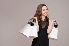 Happy shopping. Stock Photos
