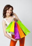 Happy shopping! Stock Photography