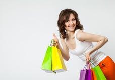 Happy shopping! Stock Image