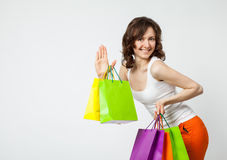 Happy shopping! Stock Images
