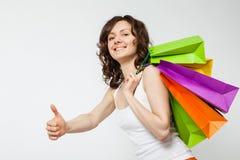 Happy shopping! Royalty Free Stock Photography