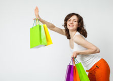 Happy shopping! Royalty Free Stock Photography