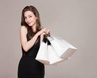 Happy shopping. Stock Image