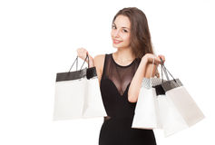 Happy shopping. Stock Photos