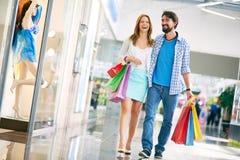 Happy shopping Royalty Free Stock Image
