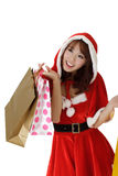 Happy shopping woman Royalty Free Stock Photo
