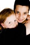 Happy sibling Royalty Free Stock Photos