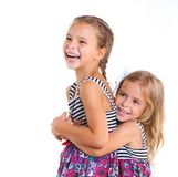 Happy sister Royalty Free Stock Photography