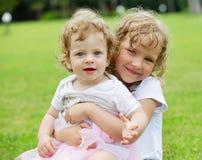 Happy sisters Royalty Free Stock Photo