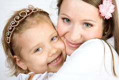 Happy sisters Royalty Free Stock Image