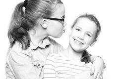 Happy sisters Stock Image
