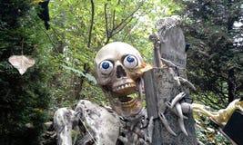 Happy Skeleton Royalty Free Stock Photos