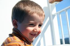 Happy Small Boy Stock Photography