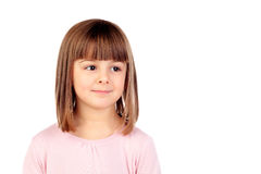 Happy small girl smiling Royalty Free Stock Photography
