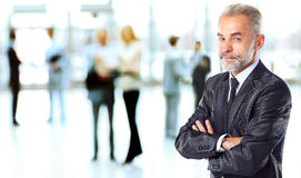 Happy smart business man Stock Photography
