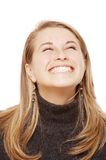 Happy smile. Photo of a woman smile