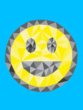 Happy Smile, art vector illustration Stock Image