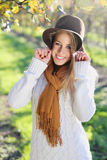 Happy smile from beautiful woman Stock Image