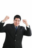 Happy smile business man Stock Photos