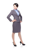 Happy smile business woman Royalty Free Stock Photography