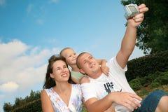 Happy smile family Royalty Free Stock Image