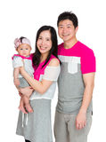 Happy smile family Stock Photography