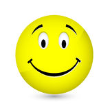 Happy smiley Stock Image