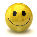 Happy smiley Stock Images