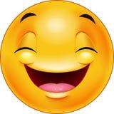 Happy smiley emoticon face Royalty Free Stock Image