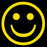 Happy smiley face Royalty Free Stock Photos
