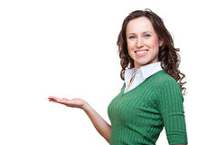 Happy smiley woman Stock Photography