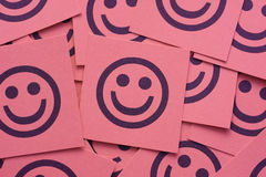 Happy smileys Stock Images