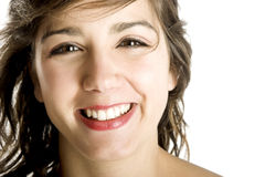 Happy and Smiling royalty free stock image