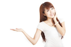 Happy smiling asian woman Royalty Free Stock Image