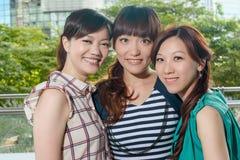 Happy smiling Asian woman Royalty Free Stock Photos