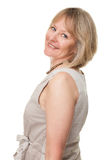 Happy Smiling Attractive Mature Woman Stock Photo