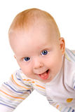 Happy smiling baby Stock Photography