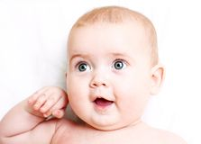 Happy smiling baby Royalty Free Stock Images
