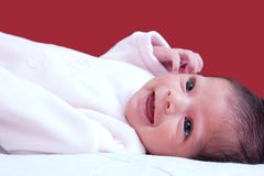 Happy, smiling baby Royalty Free Stock Images