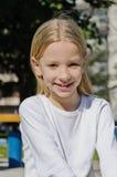 Happy smiling beautiful girl Stock Photography